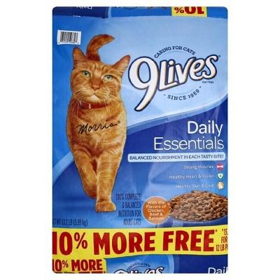 Cat Food: 9Lives Daily Essentials