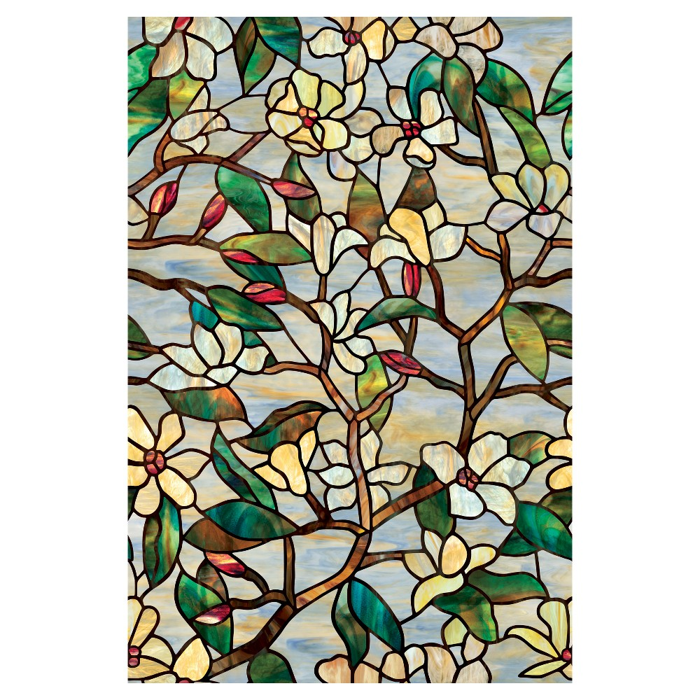 Artscape Summer Magnolia Window Film (24x 36), Summer Mag