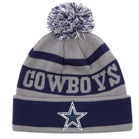 NFL Men s Dallas Cowboys Gray Mildura Knit Hat   Target de6e1d55f
