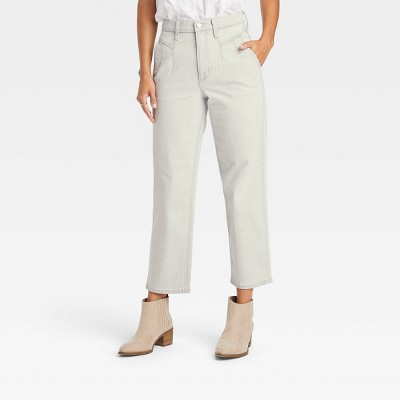 Women's Vintage Straight Cropped Jeans - Universal Thread™