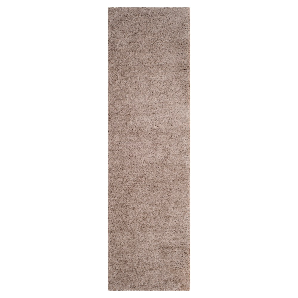 Silver Solid Tufted Runner - (2'3x6') - Safavieh