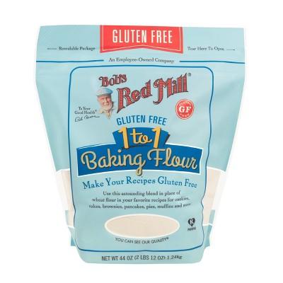 Bob's Red Mill Gluten Free 1-to-1 Baking Flour - 44oz