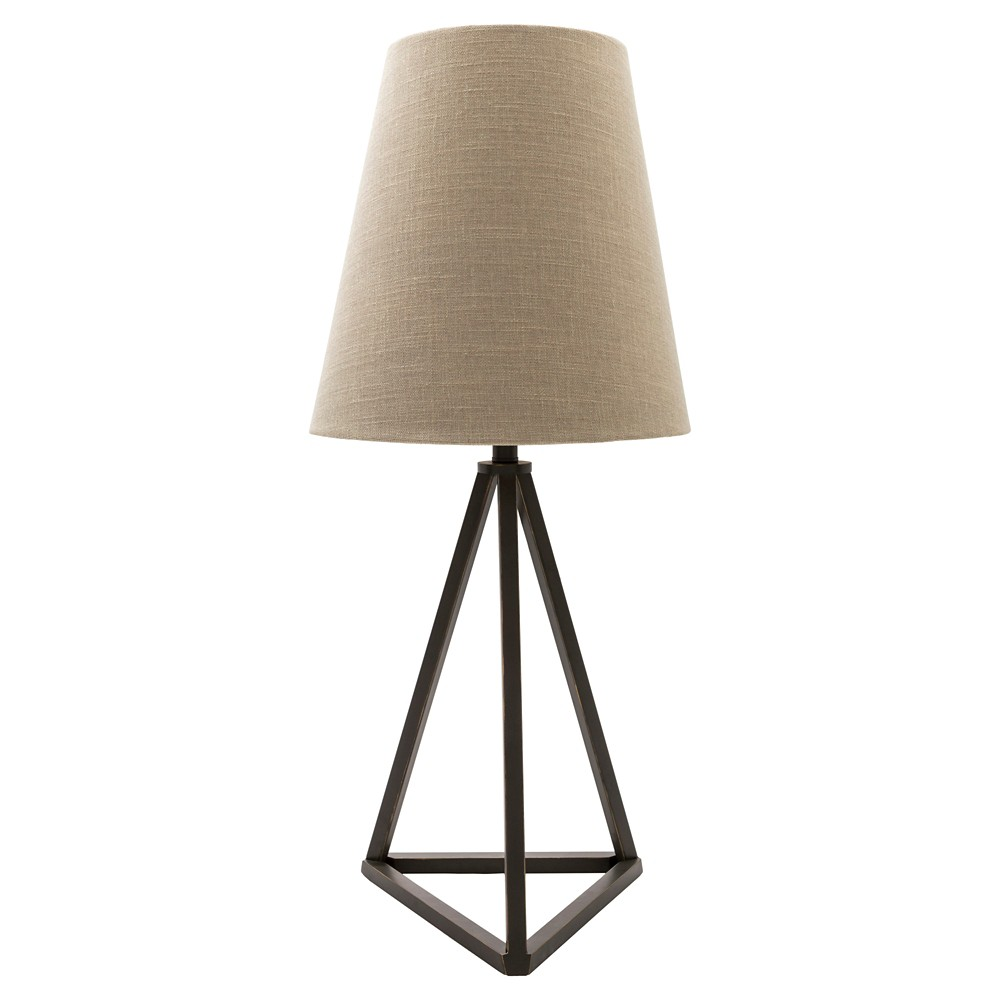Stoyer Table Lamp Black (Lamp Only) - Surya