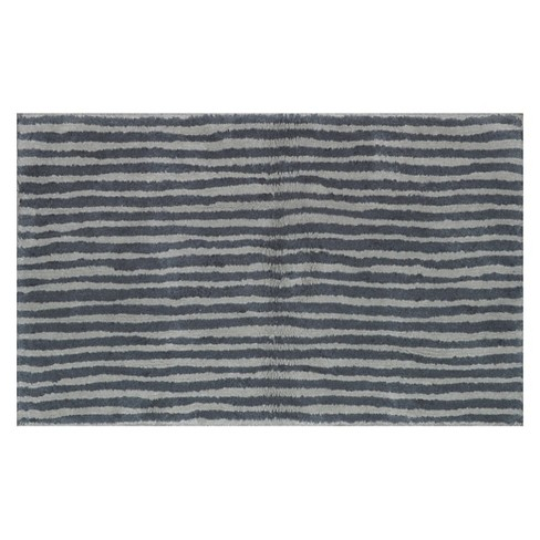 891446b89490 Striped Bath Rug Gray - Pillowfort™. Shop all Pillowfort