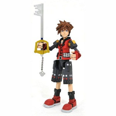 Diamond Select Kingdom Hearts 3 Select Action Figure | Valor Form Sora