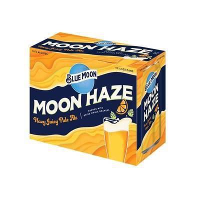 Blue Moon Haze IPA Beer - 12/12 fl oz Cans