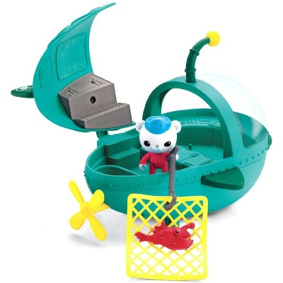 Fisher-Price Octonauts Gup-A & Barnacles Vehicle & Figure Playset