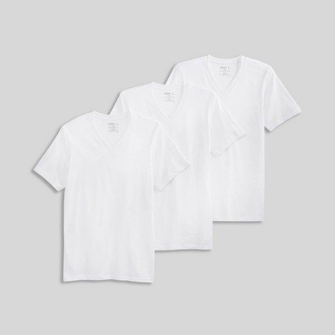 Jockey Generation Men's Stay New Cotton 3pk V-Neck T-Shirt - image 1 of 4