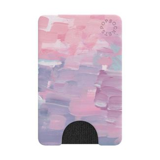 PopSockets Cell Phone PopWallet - Faded Pink