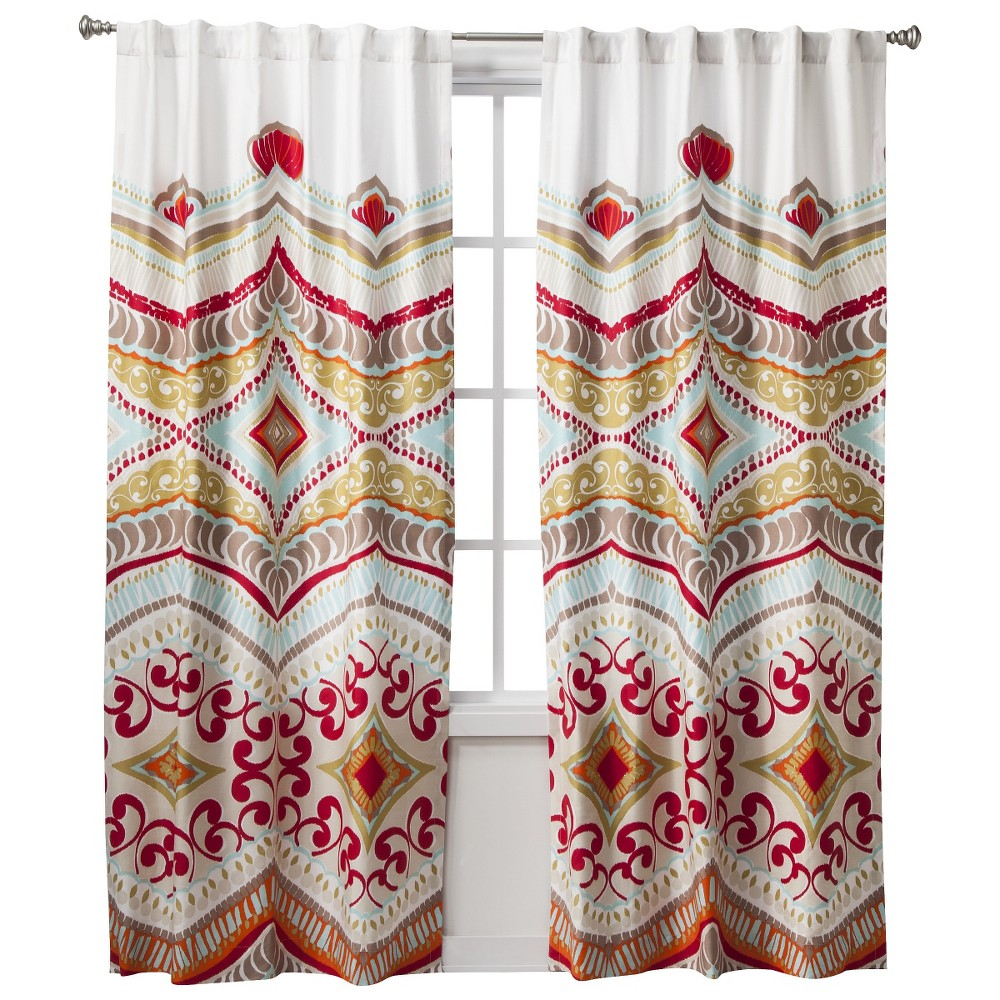 Image of Boho Boutique Utopia Curtain Panel - 42x84, Multicolor - Dnu