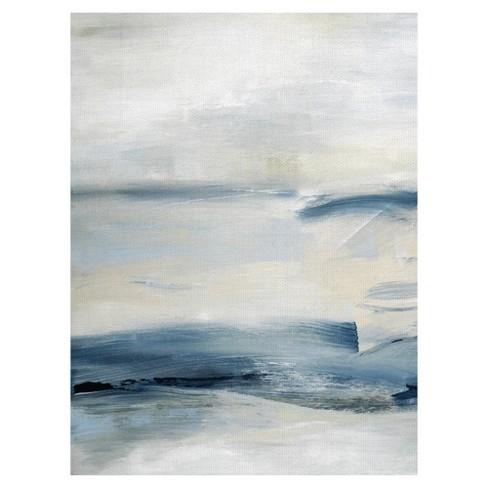 "30""x40"" Drifting Tides 1 By Judith Shapiro Art On Canvas - Fine Art Canvas - image 1 of 4"