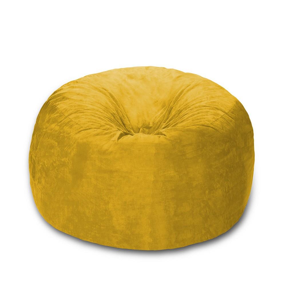 5 ft Microsuede Sack Lemon (Yellow) - Relax Sack