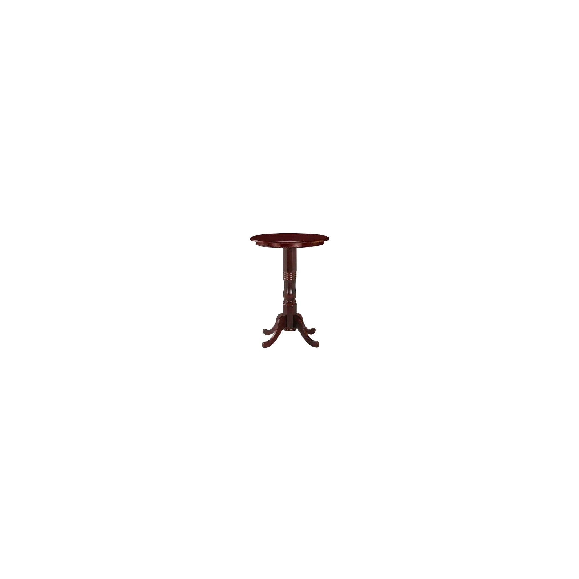 Round Pedestal Pub Table Wood/Cherry - Boraam Industries