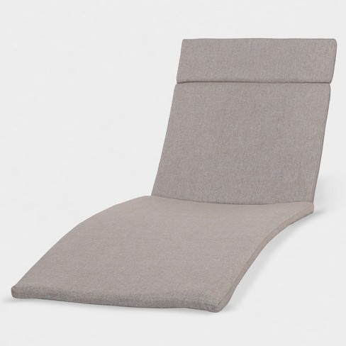 Salem Chaise Lounge Cushion Charcoal - Christopher Knight Home - image 1 of 4