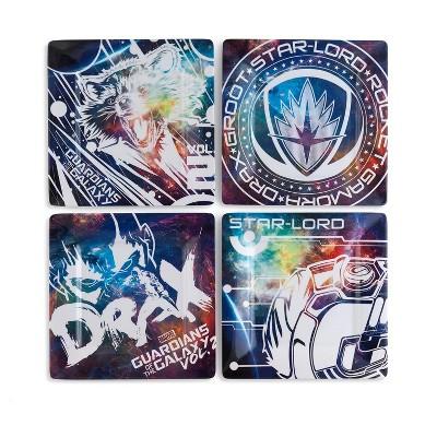 "Se7en20 Marvel Guardians of the Galaxy Vol. 2 8"" Plastic Plates - 4 pack"