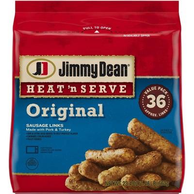 Jimmy Dean Frozen Original Sausage Links - 23.4oz/36ct