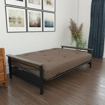 'Futon Mattress 8'' Coil Full Brown - Ameriwood Home'