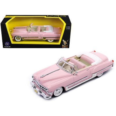 1949 Cadillac Coupe De Ville Pink 1/43 Diecast Model Car by Road Signature