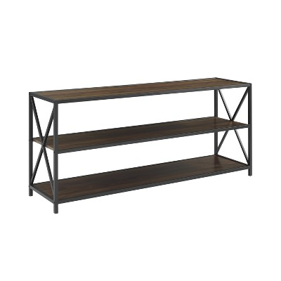 "Frame Metal and Wood Console Table 60"" - Saracina Home"