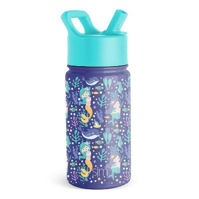 Simple Modern 14oz Stainless Steel Water Bottle with Straw and Lid