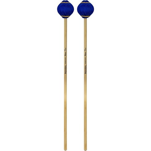 Innovative Percussion Artisan Series Multi-Tone Rattan Handle Marimba Mallets Royal Blue Yarn - image 1 of 1