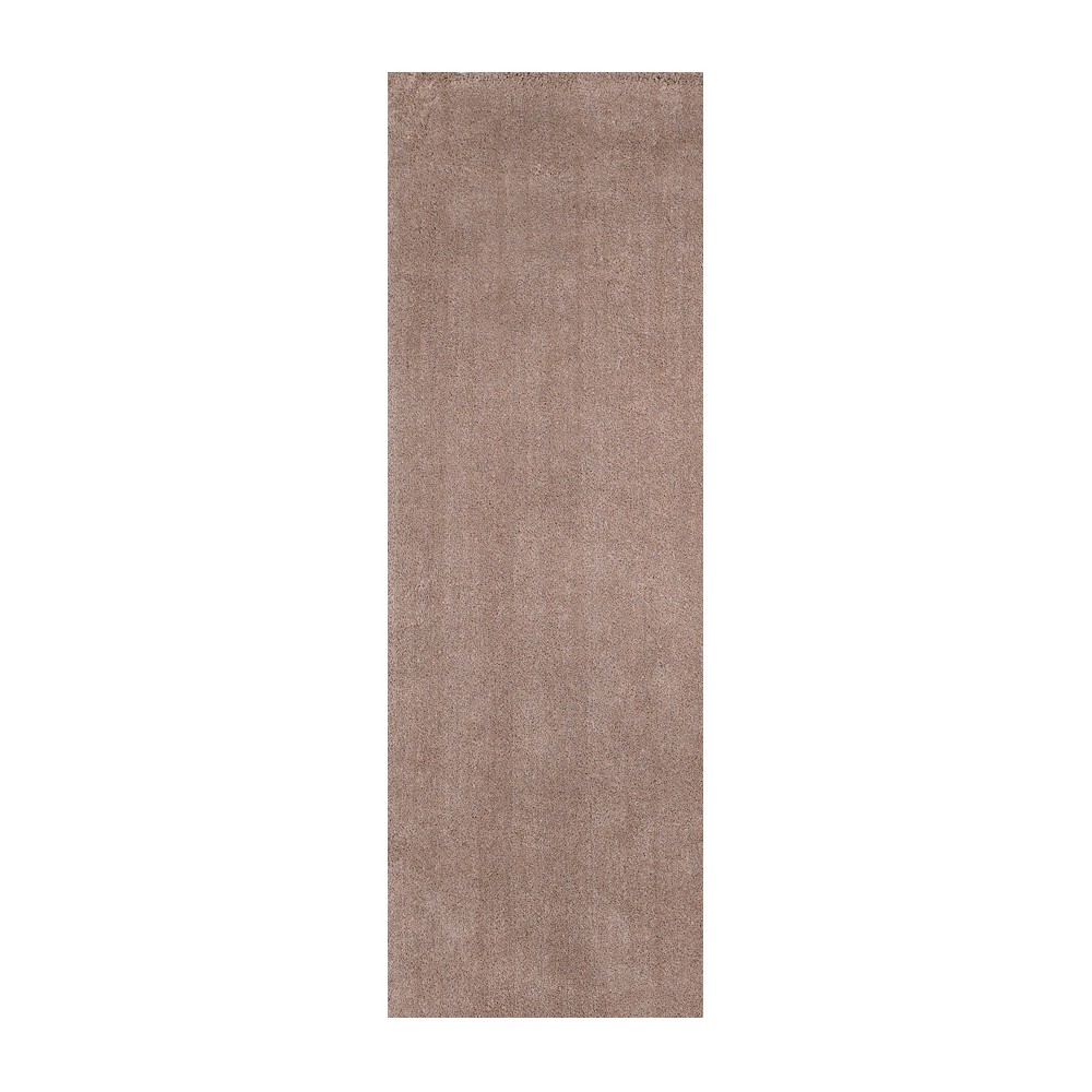 """Image of """"Beige Solid Woven Runner 2'3""""""""x7'6"""""""" - KAS Rugs, Size: 2'3"""""""" x 7'6"""""""" Runner"""""""