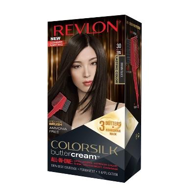 Hair Color: Revlon ColorSilk Buttercream