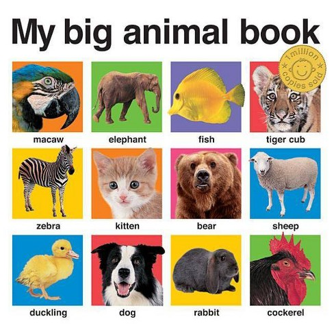 My Big Animal Book - (My Big Board Books) by  Roger Priddy (Board_book) - image 1 of 1