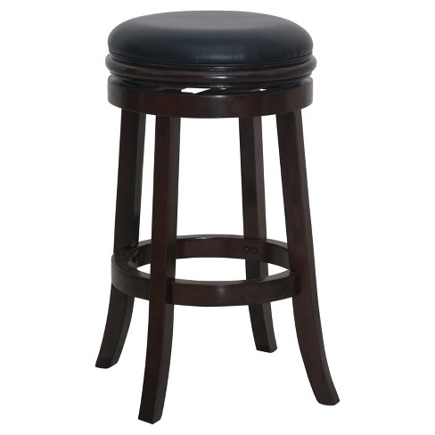 Marvelous 29 Backless Barstool Cappuccino Boraam Gmtry Best Dining Table And Chair Ideas Images Gmtryco