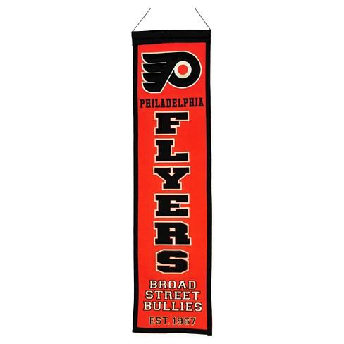 4456855d1 Philadelphia Flyers Winning Streak Heritage Banner   Target