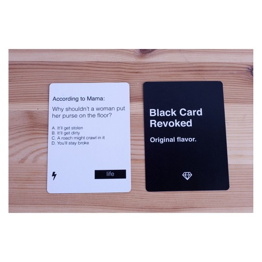 Black Card Revoked Game, Card Games image number null
