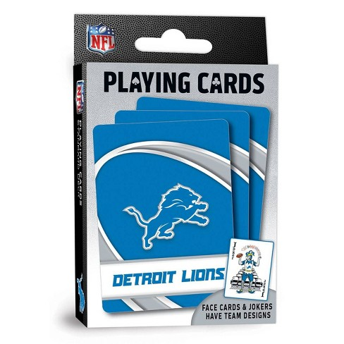 NFL Detroit Lions Playing Cards - image 1 of 4