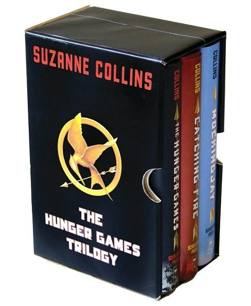 The Hunger Games Trilogy ( Hunger Games) (Reprint) (Hardcover) by Suzanne Collins - image 1 of 1
