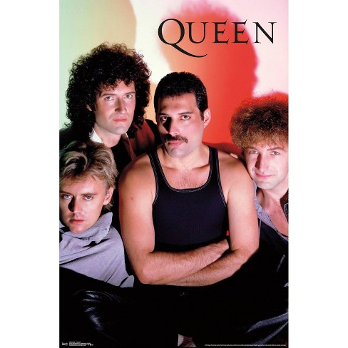 """34""""x23"""" Queen In Concert Unframed Wall Poster Print - Trends International - image 1 of 2"""