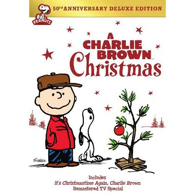 A Charlie Brown Christmas 50th Anniversary Deluxe Edition (DVD)