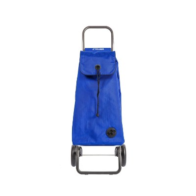 Rolser 2 Wheeled Foldable Cart Blue