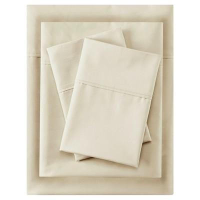 Aloe Vera Cotton Sheet Sets (Queen)Ivory 400 Thread Count