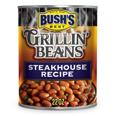 Bush's Gluten Free and Vegetarian Steakhouse Recipe Grillin' Beans - 22oz