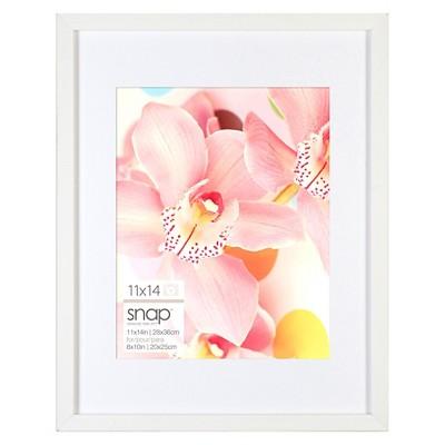 Snap 11 x14  Frame - White