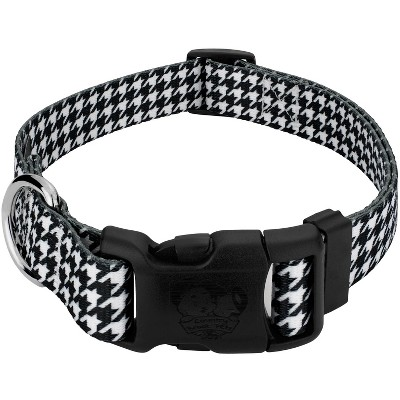 Country Brook Petz® Deluxe Houndstooth Dog Collar - Made in The U.S.A.