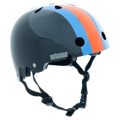 Nutcase Stripe Kids' Helmet - Black