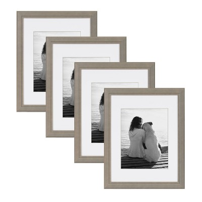 """11"""" x 14"""" Matted to 8"""" x 10"""" Kieva Wall Frame - Kate & Laurel All Things Decor"""