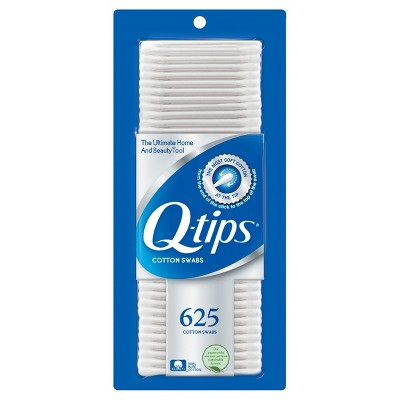 Q-tips Cotton Swabs 625 ct