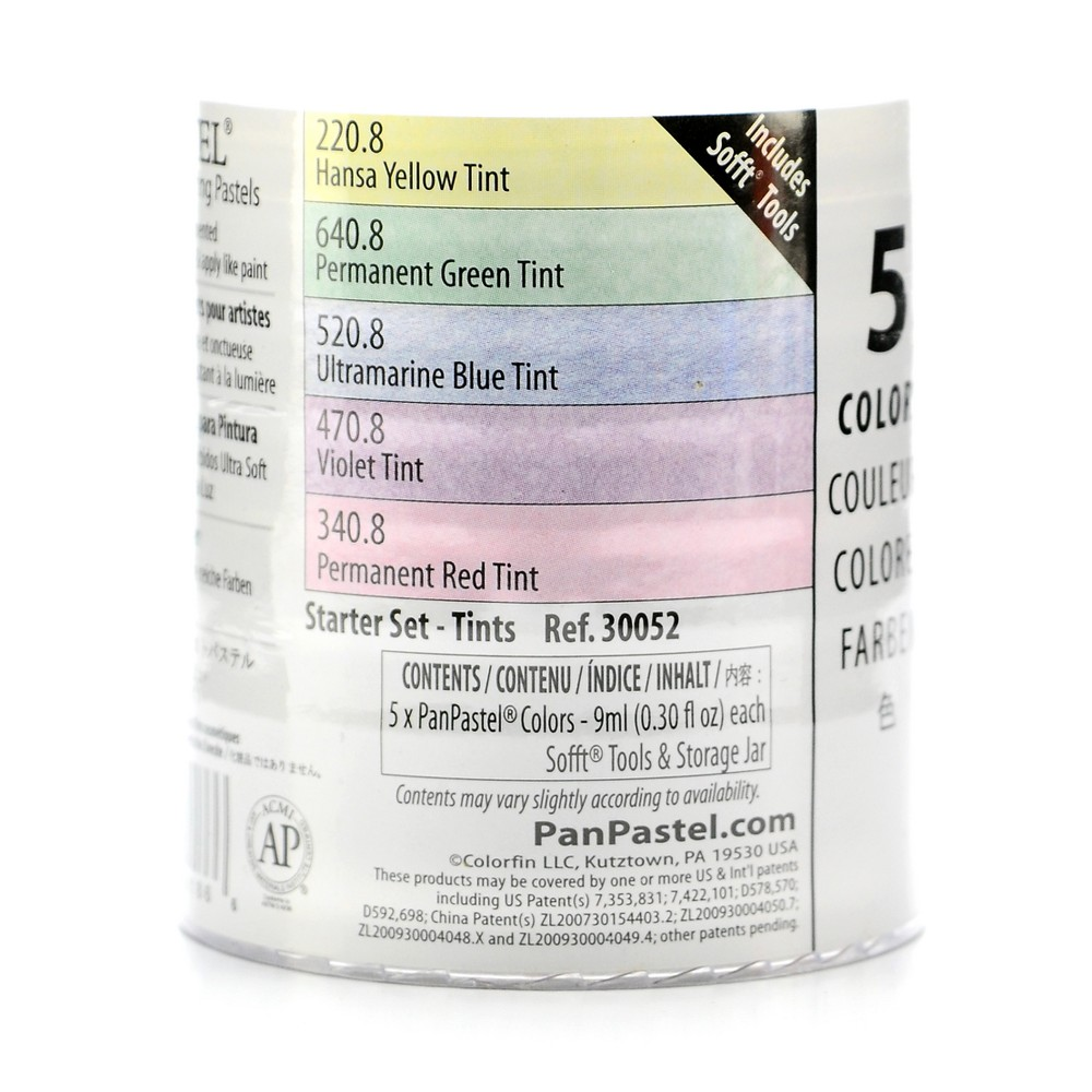 Image of Tint Starter Set 5ct - PanPastel