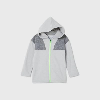 Toddler Boys' Heavy Fleece Sweatshirt - Cat & Jack™ Gray
