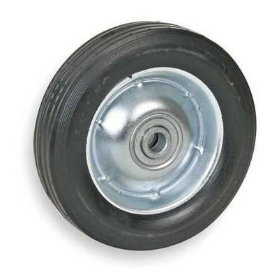 ZORO SELECT 1NXA7 Semi-Pneumatic Wheel,8 in.,60 lb.