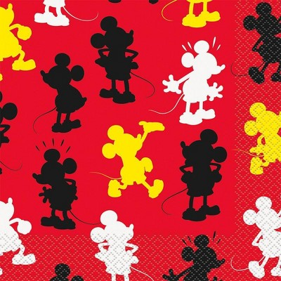 Mickey Mouse & Friends 16ct Disposable Napkins
