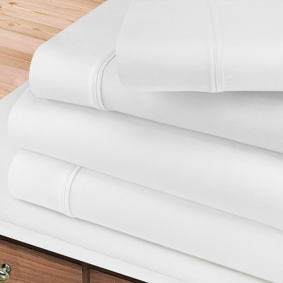 400-Thread Count Cotton Deep Pocket Sheet Set - Blue Nile Mills