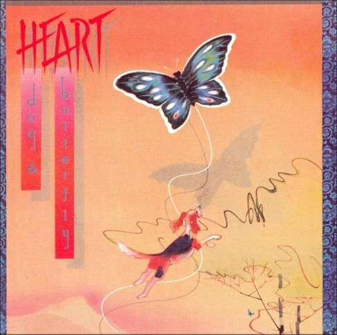 Heart - Dog & butterfly (CD) - image 1 of 1