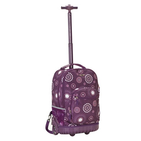 """Rockland 19"""" Frame Backpack - Purple Pearl - image 1 of 4"""